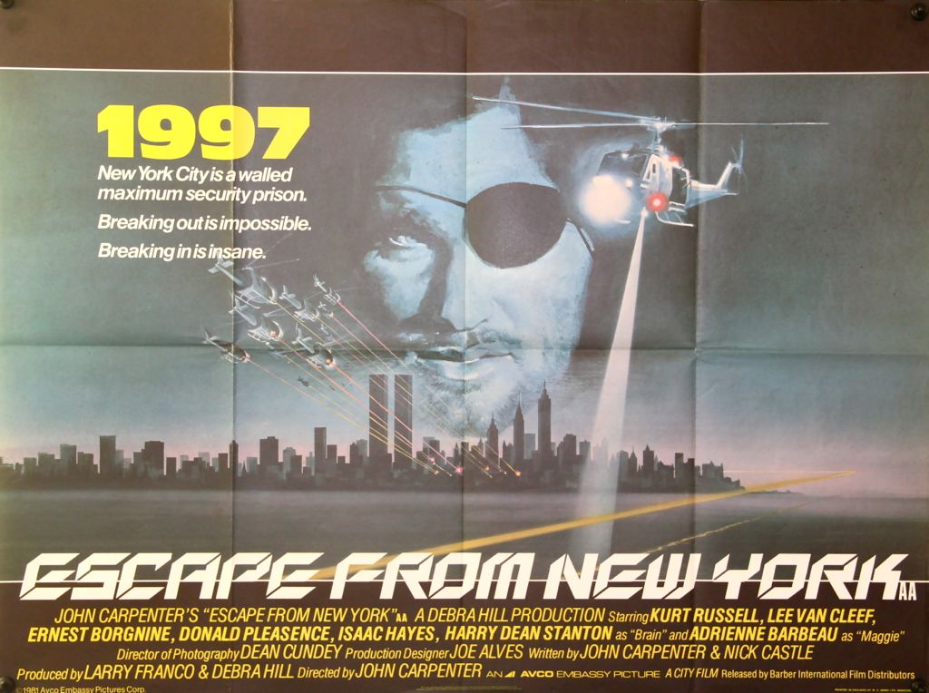 Escape From New York Poster.File Escape From New York Poster Jpg The Internet Movie Plane Database