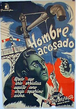 hombre acosado the internet movie plane database