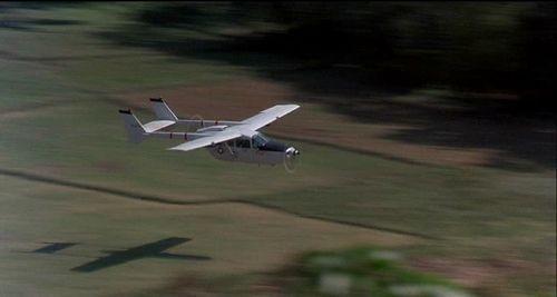 airplane used in bat 21 movie